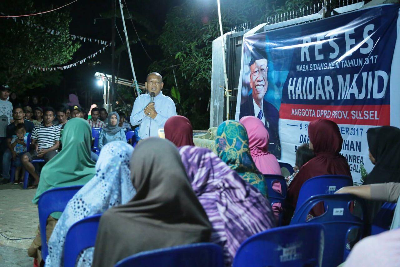 Haidar Majid Serap Aspirasi – Situs Resmi Partai Demokrat – Peduli