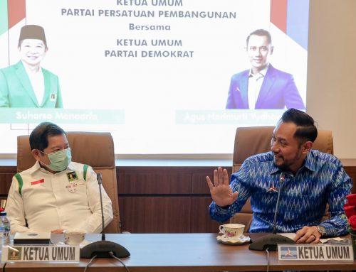 Silaturahmi Partai Demokrat dan PPP, Bahas Isu-isu Kebangsaan