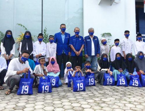 Peringati HUT ke-19, DPD Partai Demokrat Acèh Santuni Anak Yatim dan Bagi Sembako