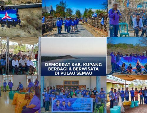 Rayakan HUT di Pulau Semau, PD Kab Kupang Berbagi ke 15 Rumah Ibadah