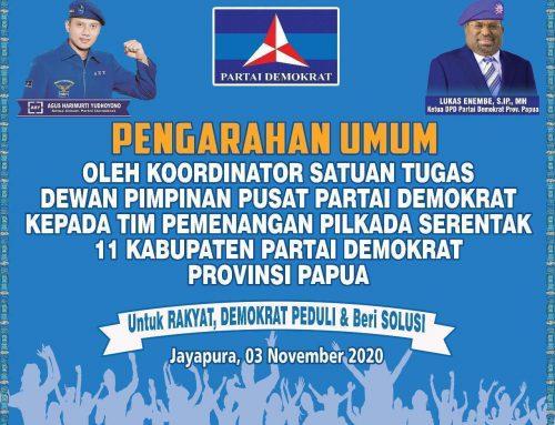 Demokrat di Tanah Papua sebagai Suluh (Pelita) Demokrasi di Wilayah Timur Indonesia