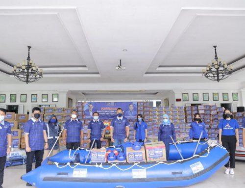 Fraksi Demokrat DPR-RI Serahkan Bantuan Korban Banjir, Ibas: Sikapi Bencana dengan Arif dan Bijaksana