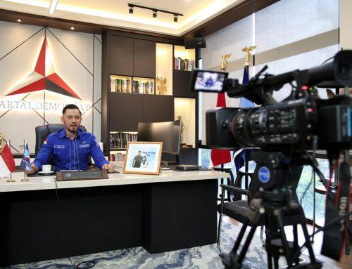 Buka Webinar Transportasi Udara, AHY Berharap Penerbangan Indonesia Makin Maju dan Aman