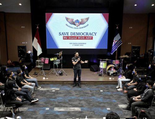 Ketum AHY Terima Dukungan Komunitas Milenial Cinta Demokrasi