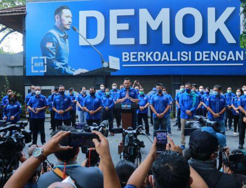 Pernyataan Pers Ketua Umum Partai Demokrat Agus Harimurti Yudhoyono
