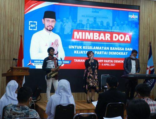 Doa Bersama di Kantor Partai Demokrat untuk Korban Bom Bunuh Diri Gereja Katedral Makassar