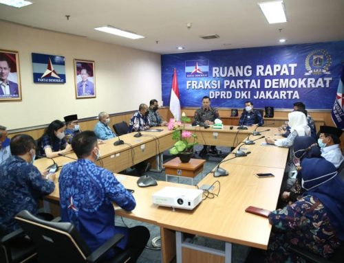 Lanjutkan Silaturahmi 360, AHY Kunjungi Kantor Fraksi Partai Demokrat DPRD Jakarta