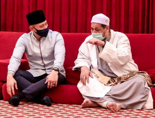 Temu Habib Ali di Kwitang, AHY: Silaturahmi Ini Selalu Kami Rindukan