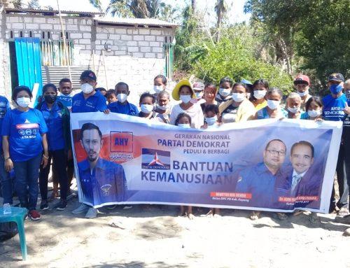 Demokrat Kabupaten Kupang Bagi Bantuan AHY dan Serap Aspirasi Warga Sulamu