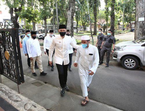 AHY Silaturahmi ke Majelis Ta'lim Al-Afaf Tebet