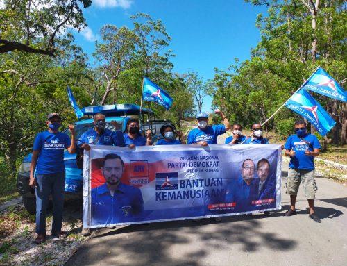 Partai Demokrat Bantu Korban Badai Seroja dan Serap Aspirasi Warga Amfoang Tengah