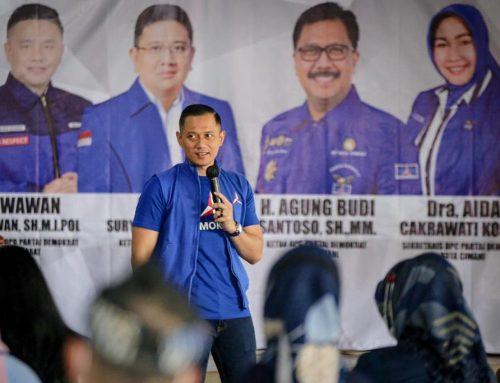 AHY Dengarkan Aspirasi Perwakilan Buruh dan UMKM di Kota Cimahi