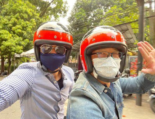 Naik Motor Bareng Ridwan Kamil, Canda AHY: Kang Emil Sesuai Aplikasi Ya