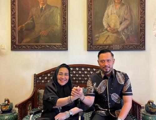 Duka Cita AHY untuk Rachmawati Soekarnoputri