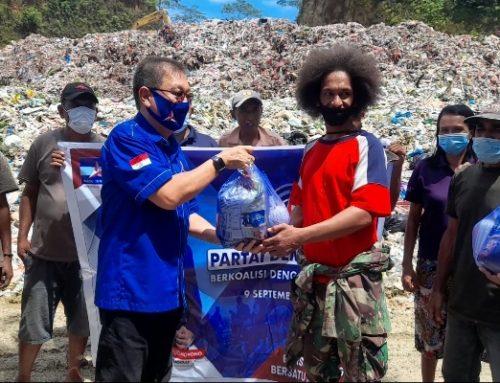 Demokrat Maluku Berbagi Paket Sembako